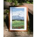 Zestaw z muliną - Tryptyk - Kwiecista łąka