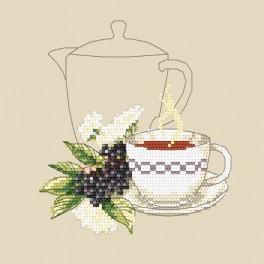 Zestaw z muliną - Herbatka z bzu