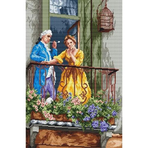 Zestaw z muliną - Na balkonie