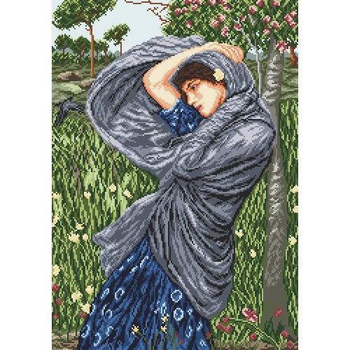 Zestaw z muliną - Dziewczyna w wietrze - J. W. Boreas