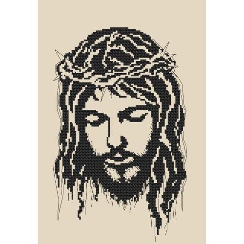 Z 8400 Zestaw z muliną - Jezus w koronie cierniowej