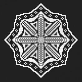 Zestaw z muliną - Haftowana koronka VI