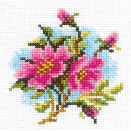 ZTH 175 Zestaw z muliną - Kwiaty