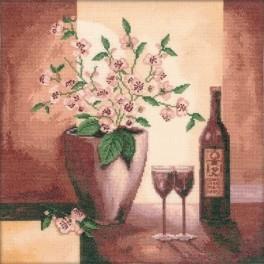 Zestaw z muliną - Wino