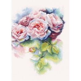 Zestaw z muliną - Różowa rozkosz