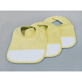 Śliniak - Śliniak frotte żółty