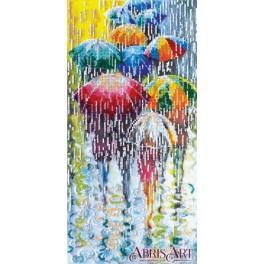 Zestaw z koralikami - Wesołe parasolki