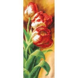 Zestaw z koralikami - Tulipany