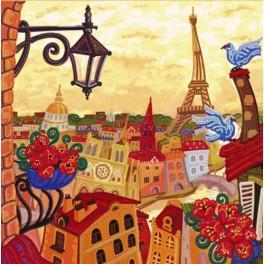 Zestaw z koralikami - Paryż. Po drugiej stronie lustra.