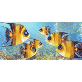 Zestaw z koralikami - Fishes