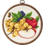 Zestaw z koralikami - Jabłka z winogronami
