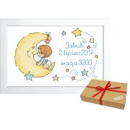 ZP 10071 Zestaw prezentowy - Metryczka dla chłopczyka