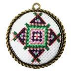 Zestaw prezentowy - Medalion - Mały kwadracik