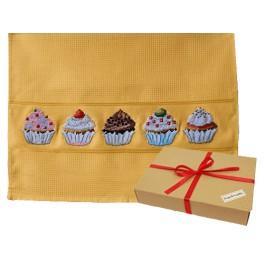 Zestaw prezentowy – Ściereczka - Muffinki