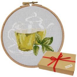 Zestaw prezentowy - Zielona herbatka