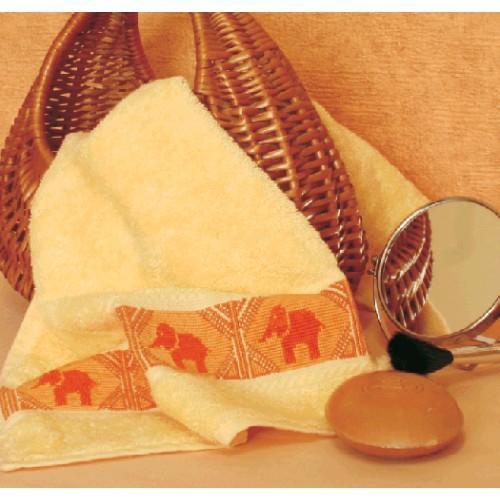 Z 4573 Zestaw do haftu - Ręcznik ze słonikami