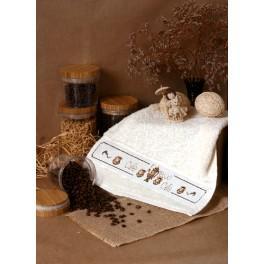 ZU 4431 Zestaw do haftu - Ręcznik z imbrykiem
