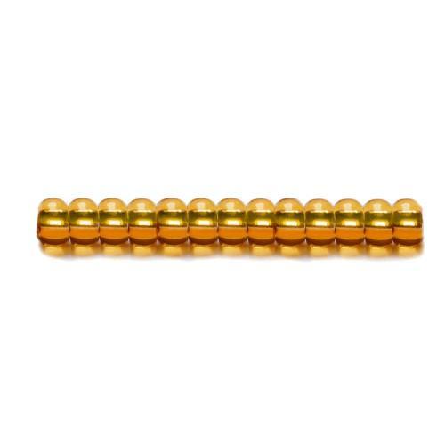 Koraliki Preciosa z metaliczną wkładką Rocailles (4,2mm)