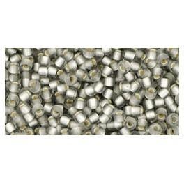 Koraliki TOHO z metaliczną wkładką 11