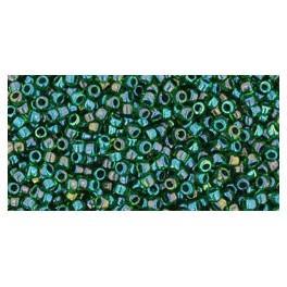 Koraliki TOHO Inside-Color (dwukolorowe) 15