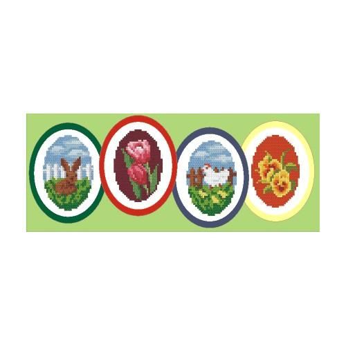 Zestaw z muliną - Wielkanocne dekoracje