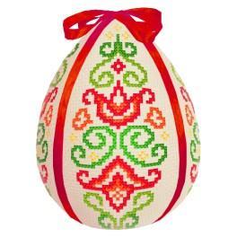 zestaw z muliną - Pisanka - Kolorowa arabeska