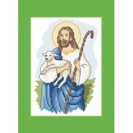 Zestaw z muliną - Kartka wielkanocna - Chrystus