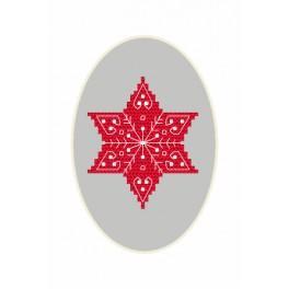 Zestaw z muliną - Kartka bożonarodzeniowa - Gwiazdka