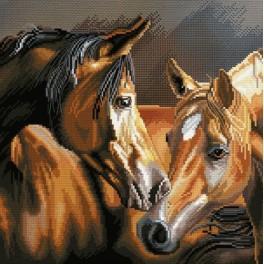 Zestaw z muliną i podmalowanym tłem - Lojalność