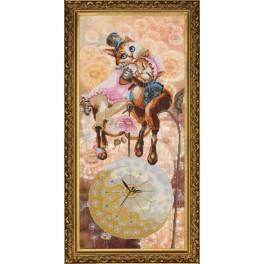 Zestaw z muliną i podmalowanym tłem - Słodki sen