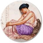 Zestaw z muliną i podmalowanym tłem – Greczynka