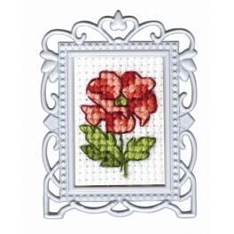 Zestaw z muliną - Kwiat - mini