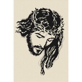ZN 4000 Zestaw z nadrukiem i muliną - Jezus