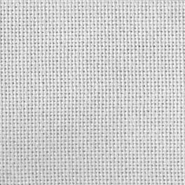 Tkanina Lugana 25 ct biała