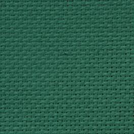 AIDA 54/10cm (14 ct) 15x20 cm zielona