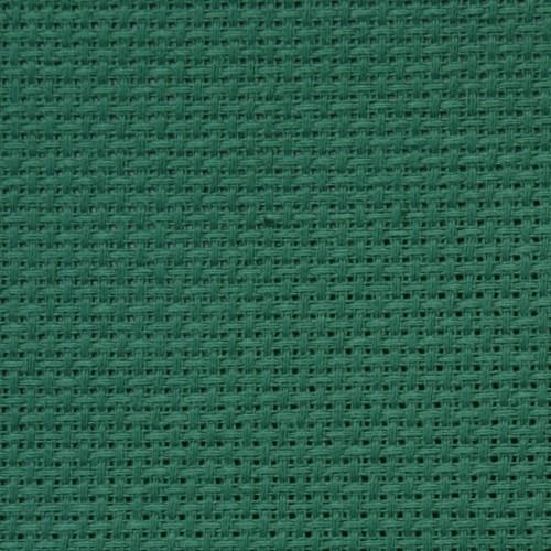 AIDA 64/10cm (16 ct) 30x40 cm zielona