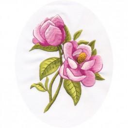 Zestaw z muliną - Polna róża