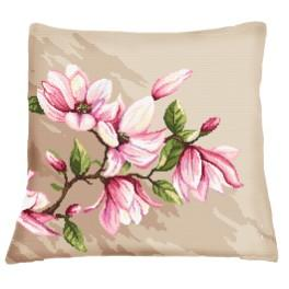 Wzór graficzny online - Poduszka z magnoliami