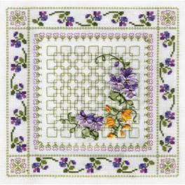 Zestaw wstążeczkowy - Kolorowe kwiaty