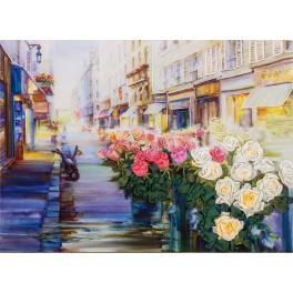 Zestaw wstążeczkowy - Paryska uliczka