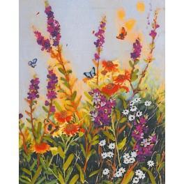 Zestaw wstążeczkowy - Polne kwiaty