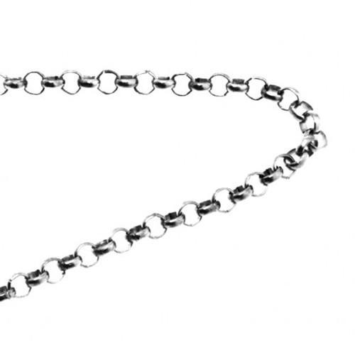Łańcuszek kolor srebrny 3,5mm