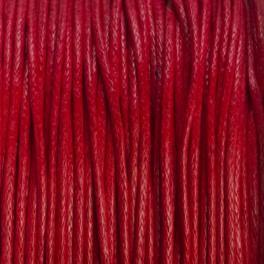 Sznurek bawełniany czerwony