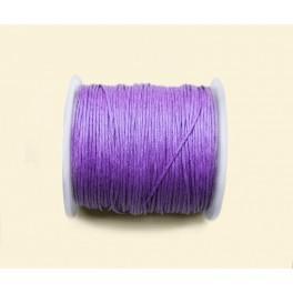 Sznurek bawełniany fioletowy
