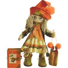 Zestaw do uszycia lalki - Lalka - Jesień