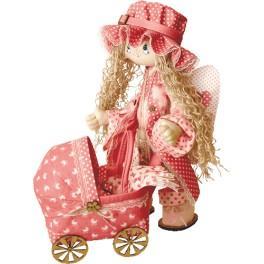 Zestaw do uszycia lalki - Lalka - Aniołek