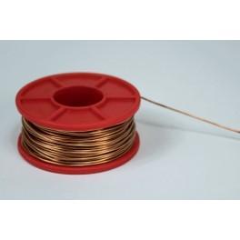 Drut miedziany 0,8 mm, szpulka 0,1 kg - 22 m