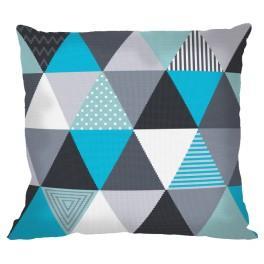 Wzór graficzny – Poduszka - Niebanalne trójkąty