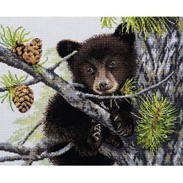 Zestaw z muliną - Niedźwiedź