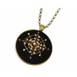 Medalion - Złoty romb